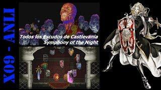 Todos los Escudos de Castlevania Symphony of the Night