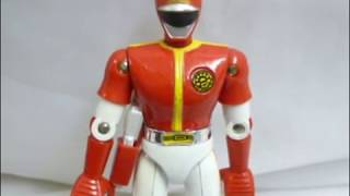Superalloy GB-95 Science Squadron Dynaman Dyna Red.