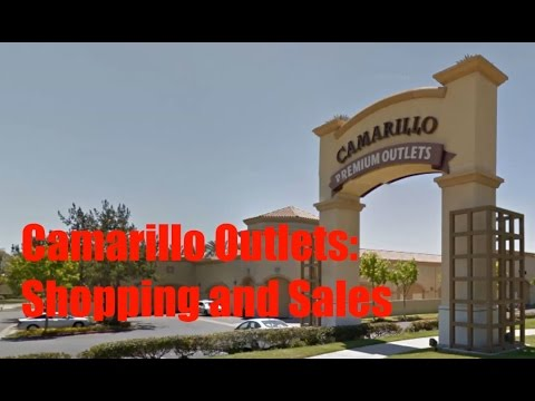 Camarillo Outlets: Walkaround, Shopping, Sales, and Prices