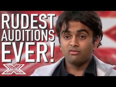 Rudest Auditions EVER on X Factor Global!