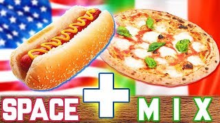 Hot Dog alla PIZZA - SPACEMIX