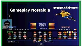 Brazukas 2017 Winning Eleven PS1 Android Nostalgia gameplay