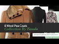 8 Wool Pea Coats Collection By Fanala Amazon Fashion 2017 Collection