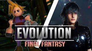 The Evolution of Final Fantasy Graphics [1987 - 2016]