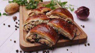 Пирог со шпинатом и тунцом - Рецепты от Со Вкусом