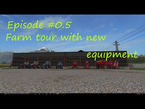 FS17 - Serenity Valley V4.1 Episode #0.5  - New equipment and new production sites