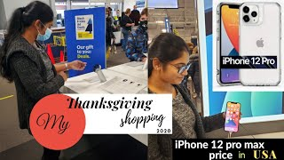Thanks giving shopping vĮog 2020// Black Friday deals // iphone 12 price in USA