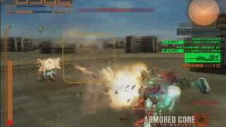 Armored Core : Nine Breaker The Encounter World ( Intro BGM no SFX )