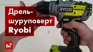 Обзор бесщеточной дрели-шуруповерта Ryobi R18DDBL-220S
