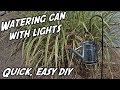 DIY Glowing Watering Can with Fairy Lights | DIY String Lights | Watering Can with String Lights