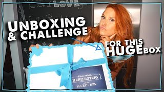 Unboxing & challenge for this HUGE box 📦 | Sissy Christidou