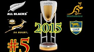 Rugby Challenge 2 - The Rugby Championship 2015 - Match 5 - Wallabies vs All Blacks