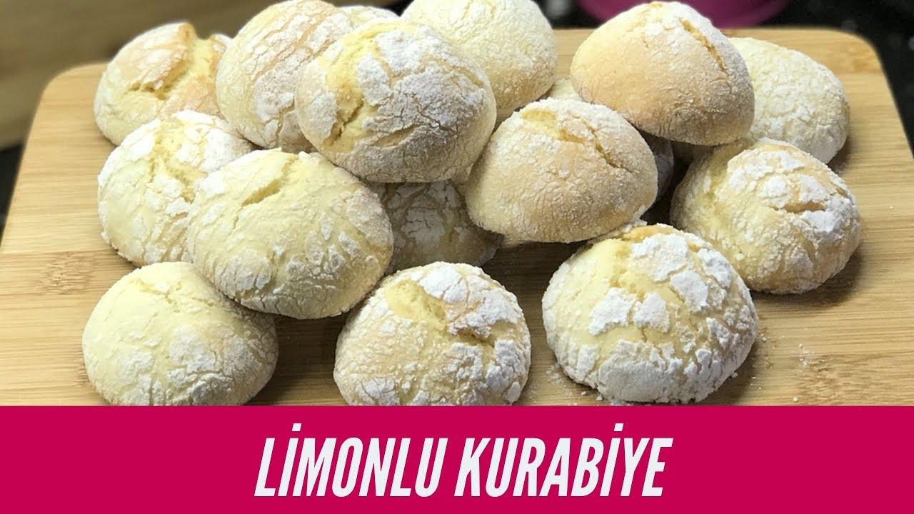 Limonlu kolay kurabiye tarifi