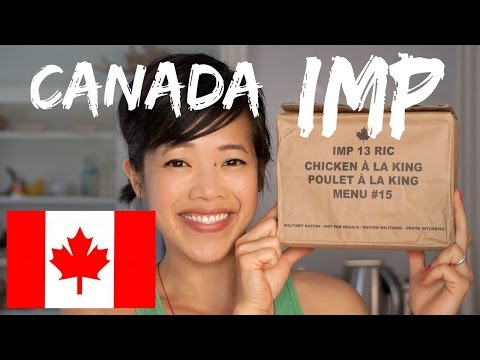 Canada IMP | Canadian Individual Meal Pack MRE Taste Test