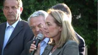 pique-nique des centriste Tarnais 4-06-2012 - Parc de Gourjade - discours Anne LAPERROUZE