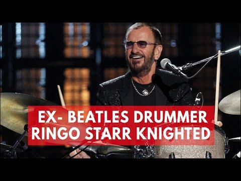 Ex- Beatles drummer Ringo Starr knighted