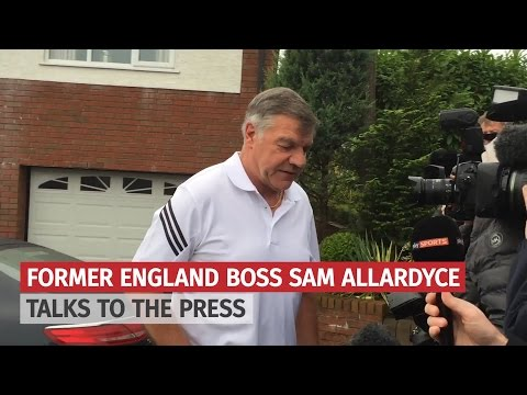 "Sam Allardyce Speaks To Reporters Says He Has ""Paid The Consequences"" For ""Error Of Judgment"""
