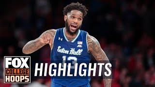 Powell joins 2,000-pt club with 29, leads Seton Hall past St. John's | FOX COLLEGE HOOPS HIGHLIGHTS