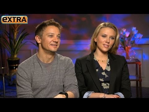 'The Avengers' Interviews: Scarlet Johansson and Jeremy Renn