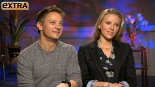 'The Avengers' Interviews: Scarlet Johansson and Jeremy Renner