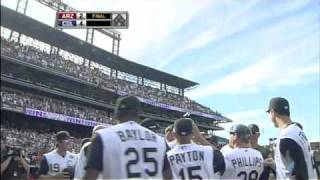 2010/09/12 Giambi's walk-off homer