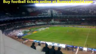 Football game in Buenos Aires, Argentina (River Plate Stadium)