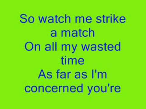 picture to burn lyrics