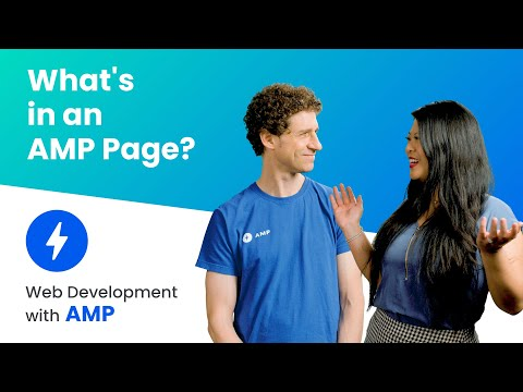 What's in an AMP page?  (AMP Beginning Course, ep. 4)