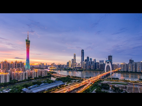 china guangzhou (Canton)time lapse 2015 hyperlapse 广州 延时摄影