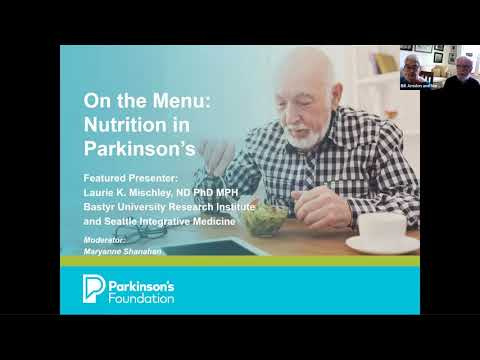 On the Menu: Nutrition and Parkinson's disease Day 1
