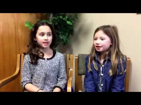 Two of our second graders sharing why they love Hillel Community Day School!