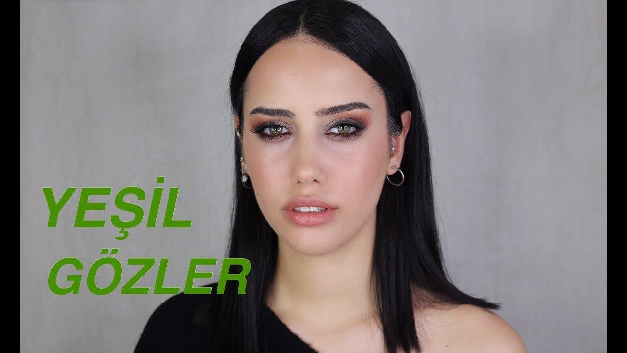 Yeşil Gözlüler İçin Makyaj Teknikleri