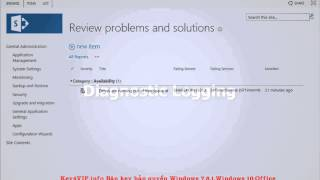 SharePoint 2013 - Monitoring SharePoint 2013: Lesson 11