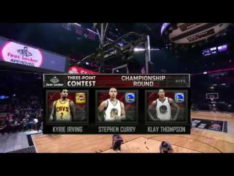 2015 NBA 3-Point contest FULL FINAL ROUND