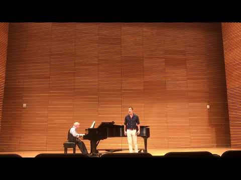 Christopher Wolf sings 'Miles!' From Benjamin Britten's 'The Turn Of The Screw'