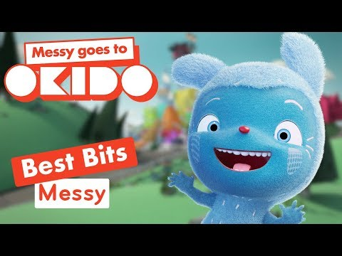Messy Goes To Okido - Messy's Best Bits! | Videos For Kids | Cbeebies