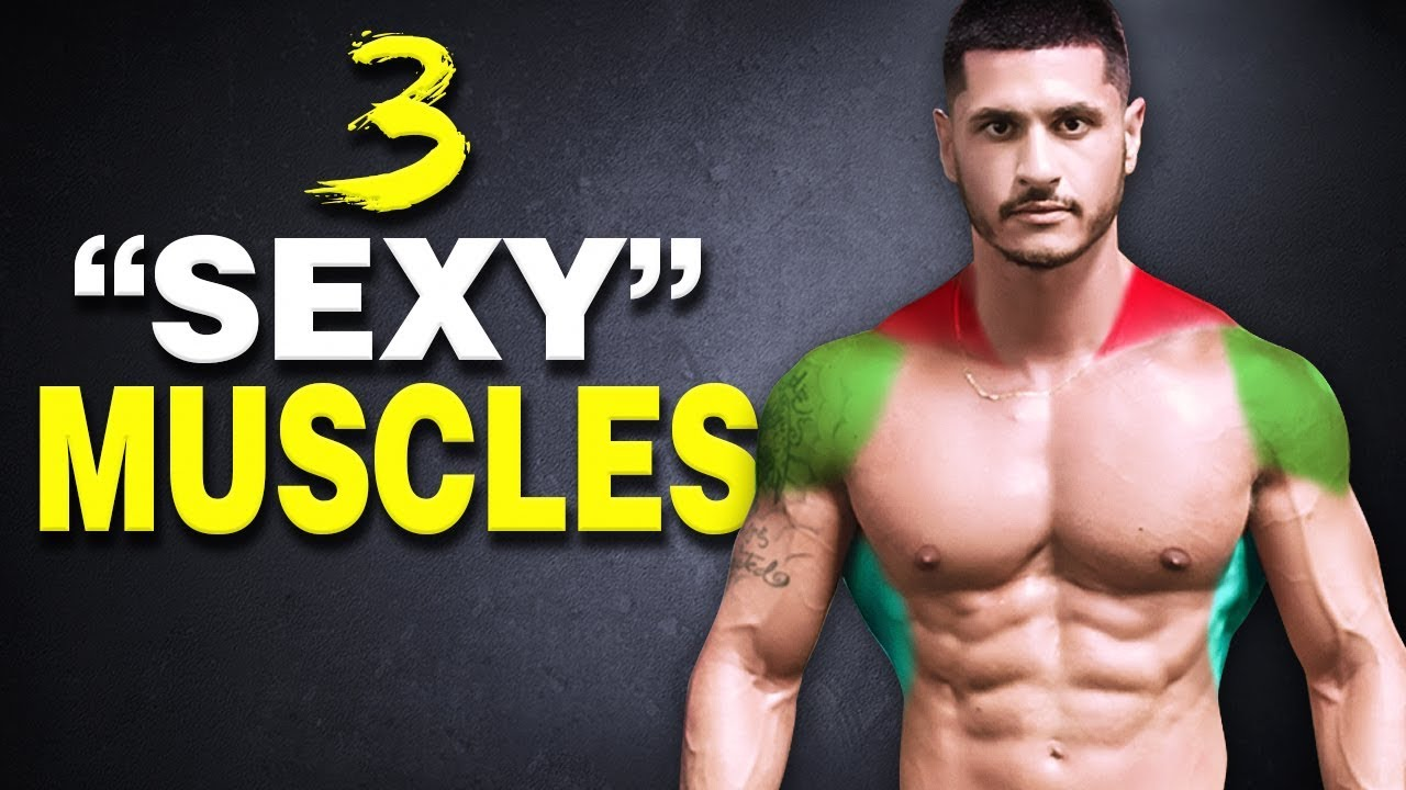 These 3 Muscles Make You Look Bigger (and more attractive)