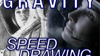 Josh Speed Drawing Sandra Bullock