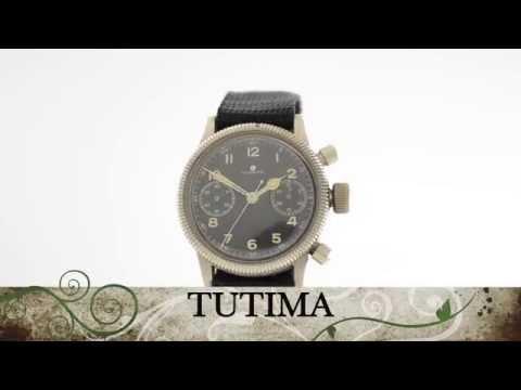Tutima Glashutte military chronograph Urofa 59