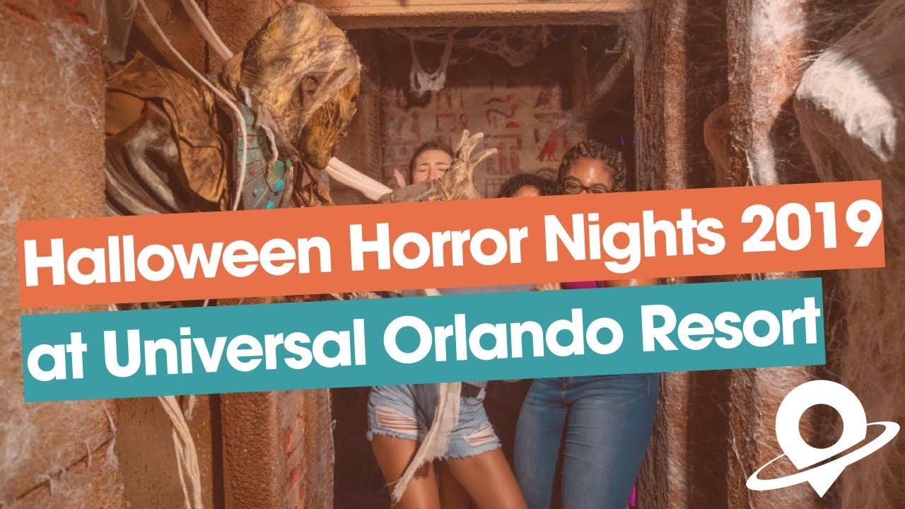 Halloween Horror Nights 2019 At Universal Orlando Resort Youtube