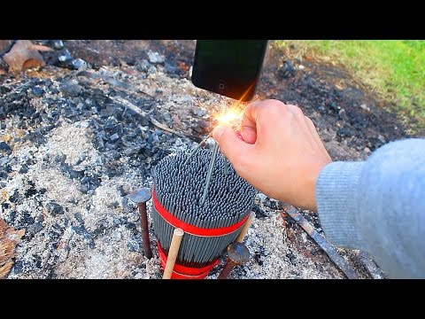 Thumbnail: IPHONE 5 OVER 1000 SPARKLERS ! Will it Survive ?
