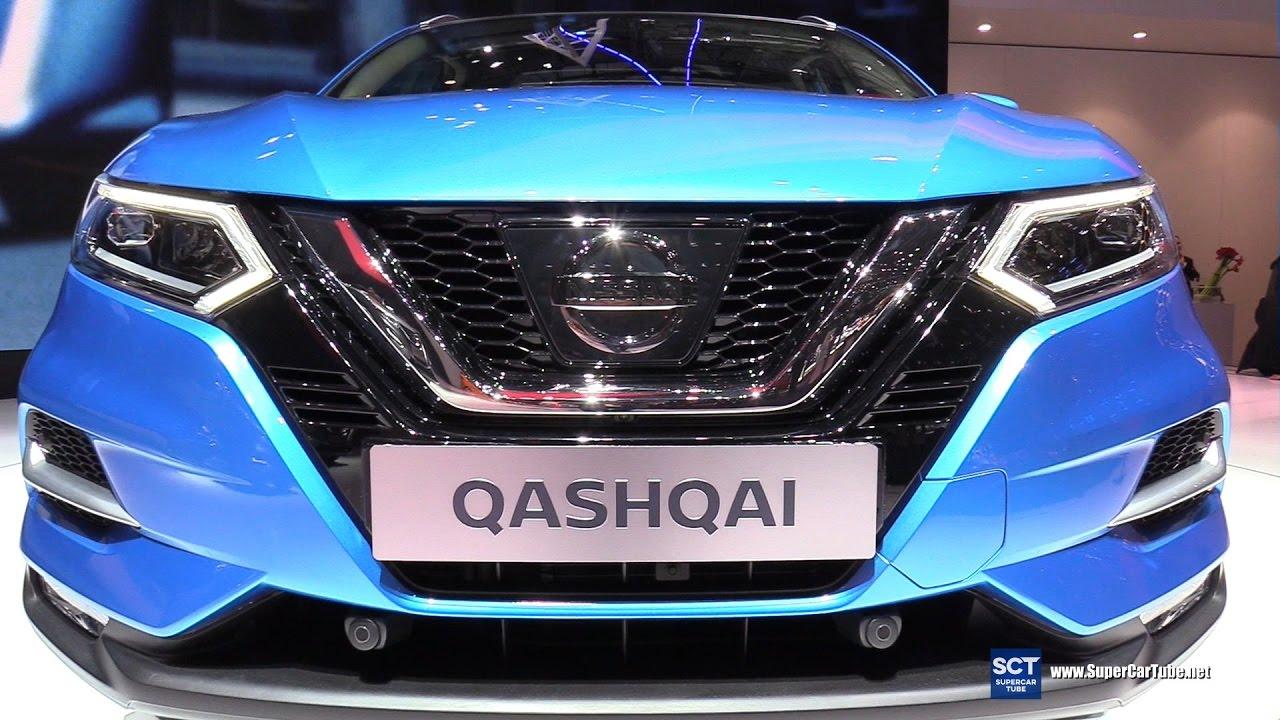 2018 nissan qashqai - exterior and interior walkaround - debut at