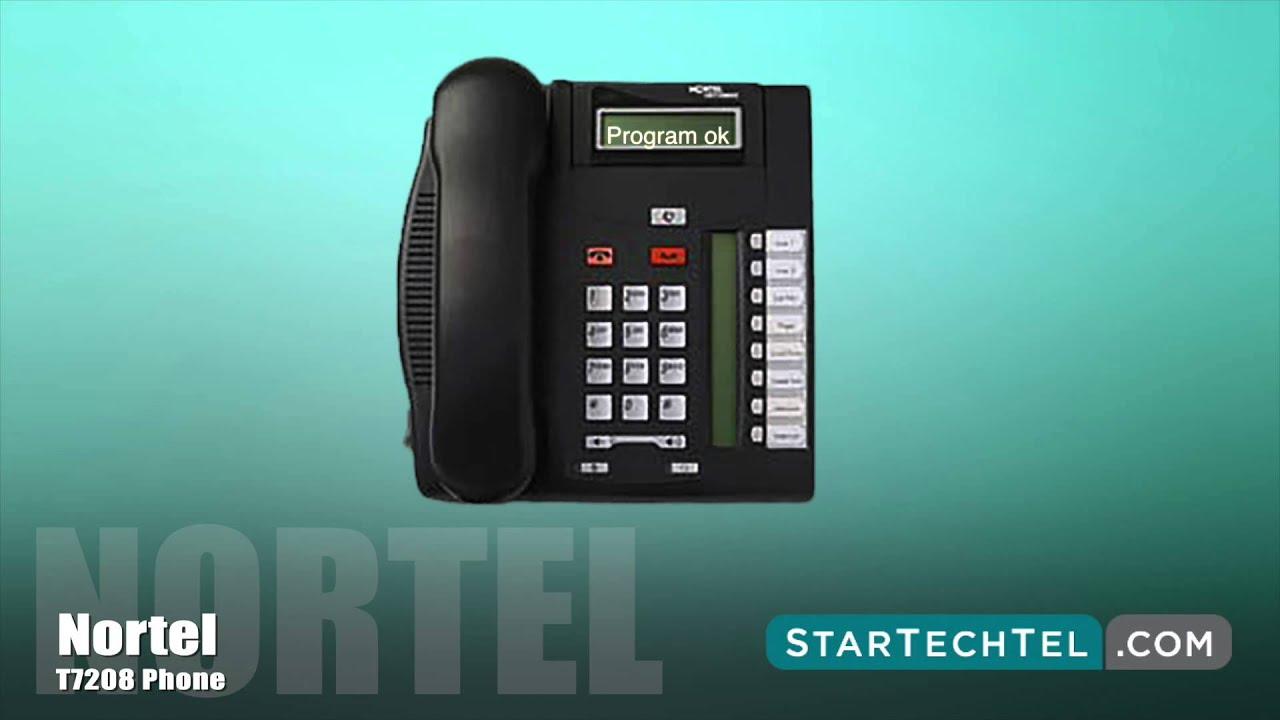 Nortel T7208 Display Phone
