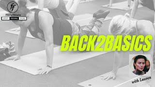 Back2Basics #1 with Lauren