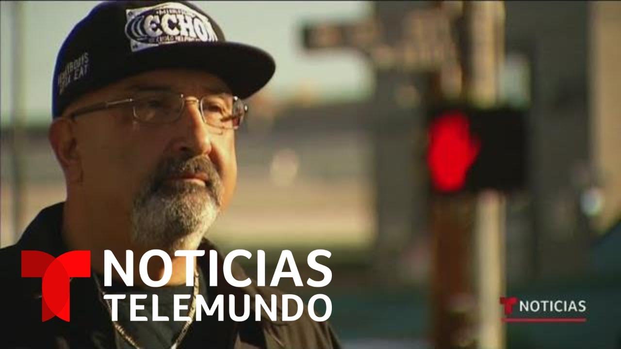 Expandillero ayuda a los más necesitados en Los Ángeles | Noticias Telemundo