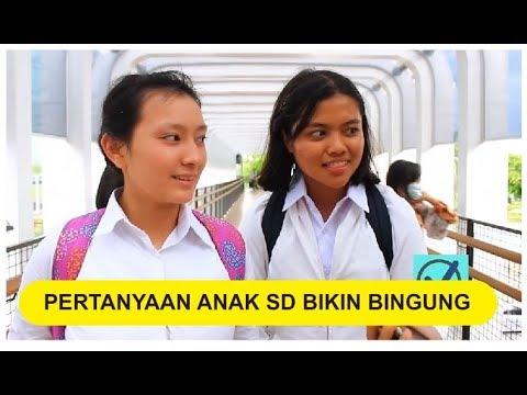 Tes Pertanyaan Anak SD Ke Warga Ibu Kota Jakarta