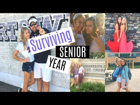 How To Survive Senior Year⎮Dream Schools, Motivation, & Social Life & More