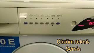 Arçelik  5800 E Çamaşır Makinesi ses yapıyor.