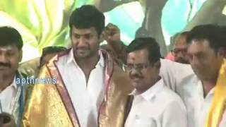 PRODUCER COUNCIL|VISHAL TEAM FELICITATED|FILM INDUSTRY FELICITATED NEWLY ELECTED VISHAL TEAM
