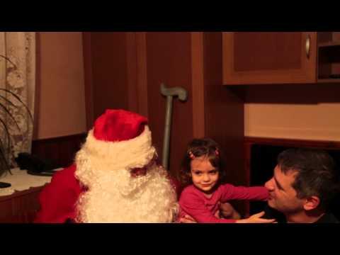 Коледа 2013 при баба и дядо в Каварна